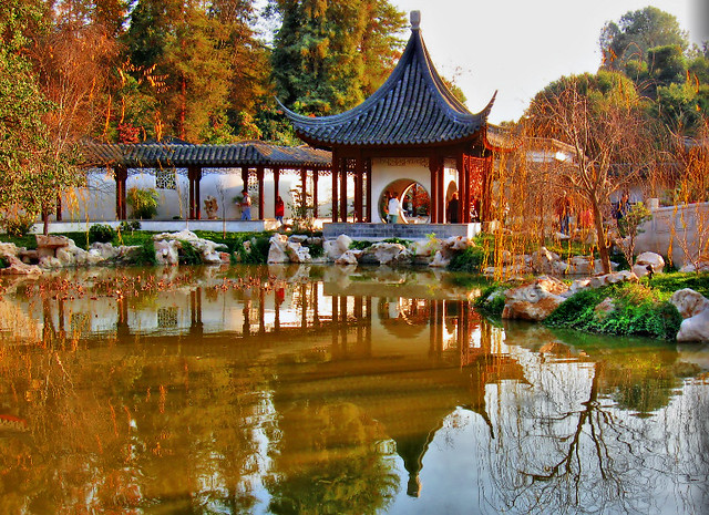 Huntington Library Park Chinese Garden Exhibit Flickr