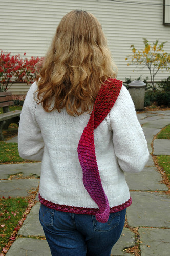 Cili sweater by Shannon Okey | by knitgrrldotcom