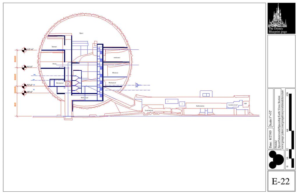 Spaceship Earth Cross Section This Section Is Outdated