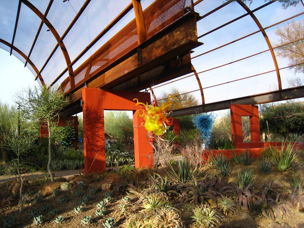 Chihuly At Desert Botanical Gardens Dru Bloomfield Flickr