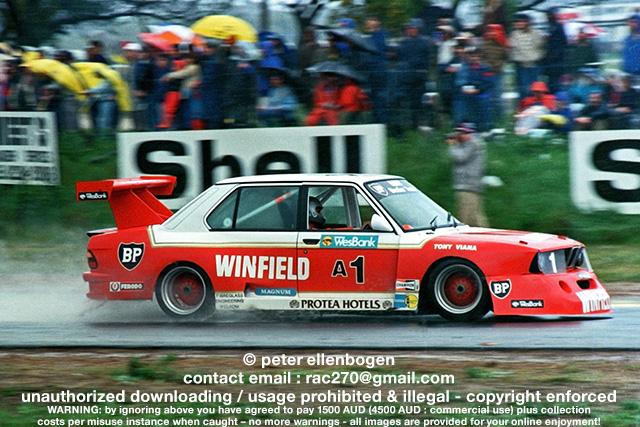 Tony Viana Winfield Bmw M5 Wesbank Modified Saloon 1987