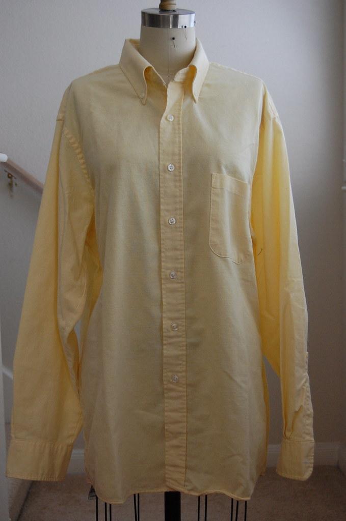 Refashion Tutorial Men S Shirt Gt Women S Shirt Dress