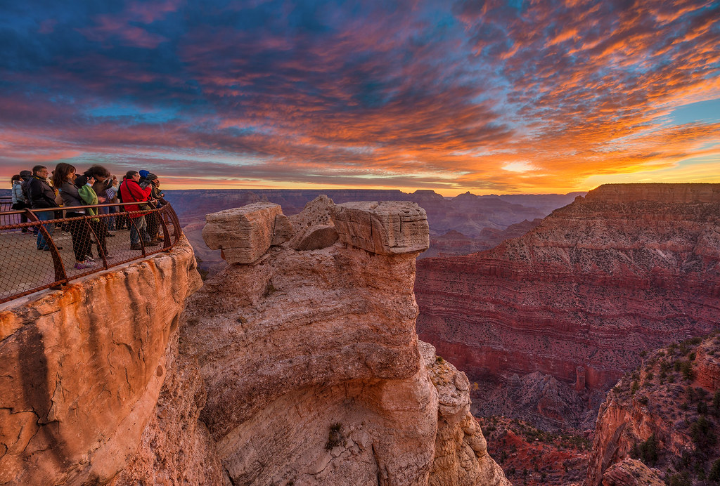 Grand Canyon National Park Hdr Mather Point Sunrise Flickr