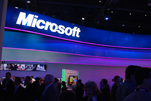 Microsoft Booth (central hall) | by International CES
