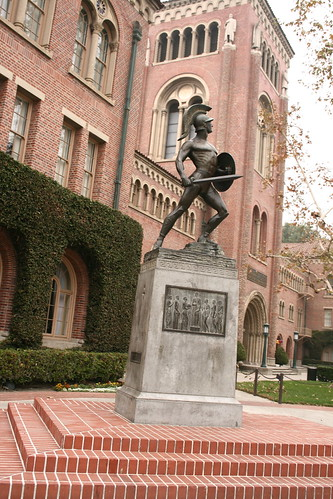 Usc Tommy Trojan Usc Campus Los Angeles California