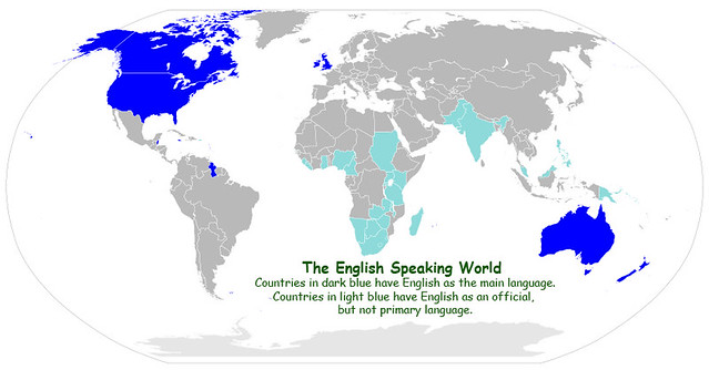 Image result for the english speaking world