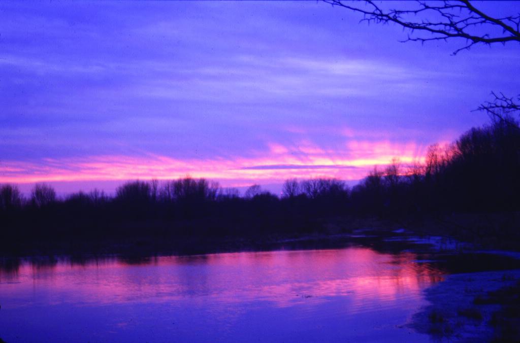 Sunrise over the fen at prophetstown state park battle gr for Battle ground lake fishing