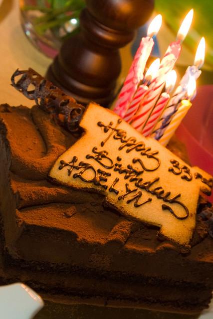 Adelyns 33rd Birthday Cake