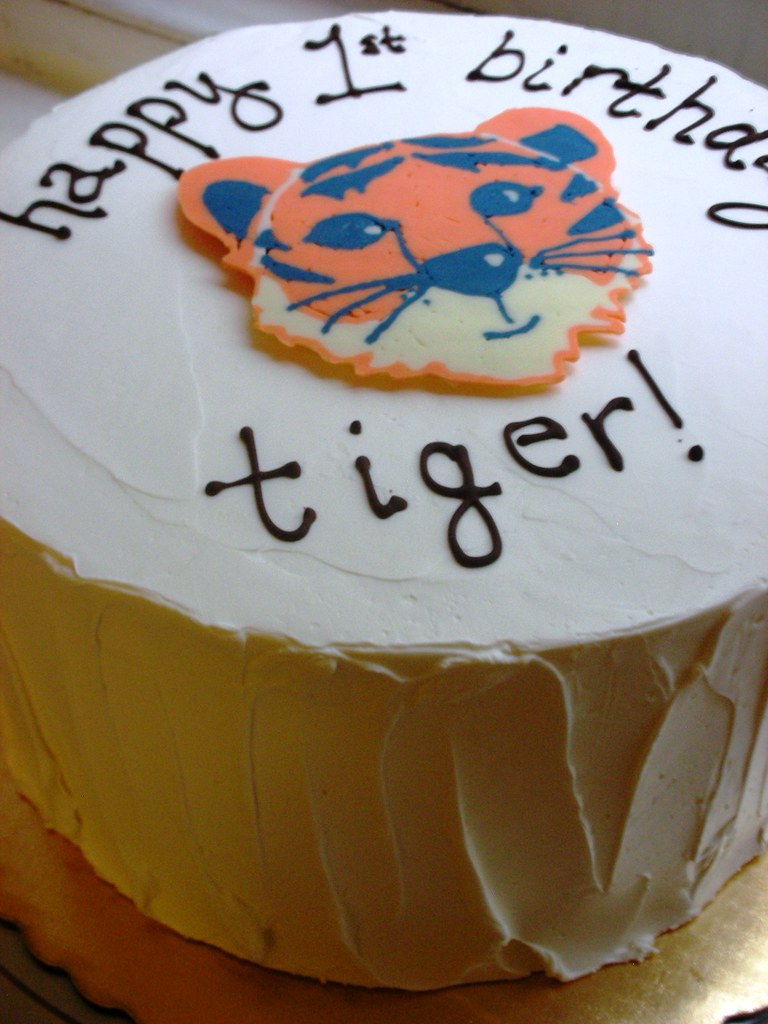 Tiger Birthday Cake Recipe