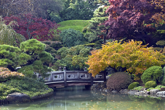 Japanese Garden In Fall At Brooklyn Botanic Garden Brookl Flickr