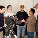Film Production students in Dramatic Lighting for HD class at VFS