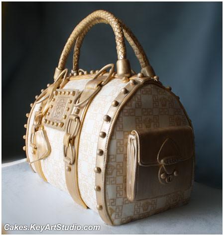 Michael kors purse cake
