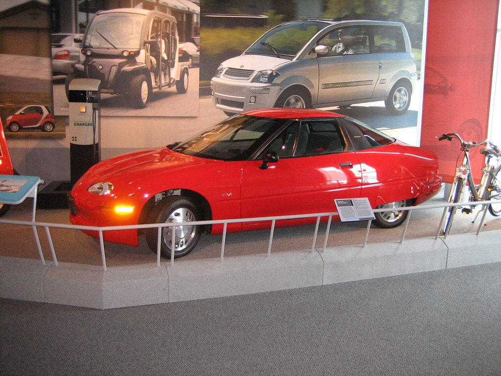 America ON WHEELS Museum--1996 GM EV1 | The EV1 ...