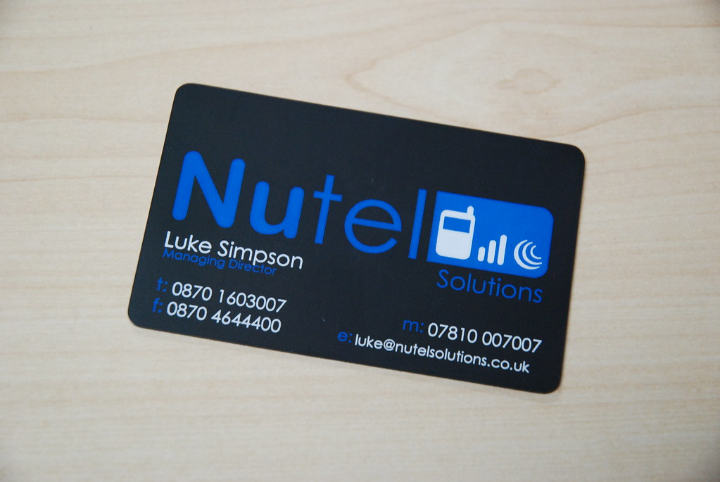 Mobile Phone Accessories Business card