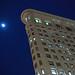 moon over flatiron
