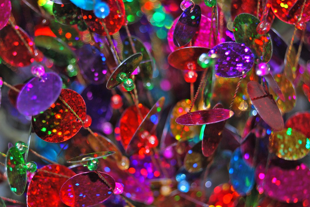 Colorful D Christmas Tree Craft