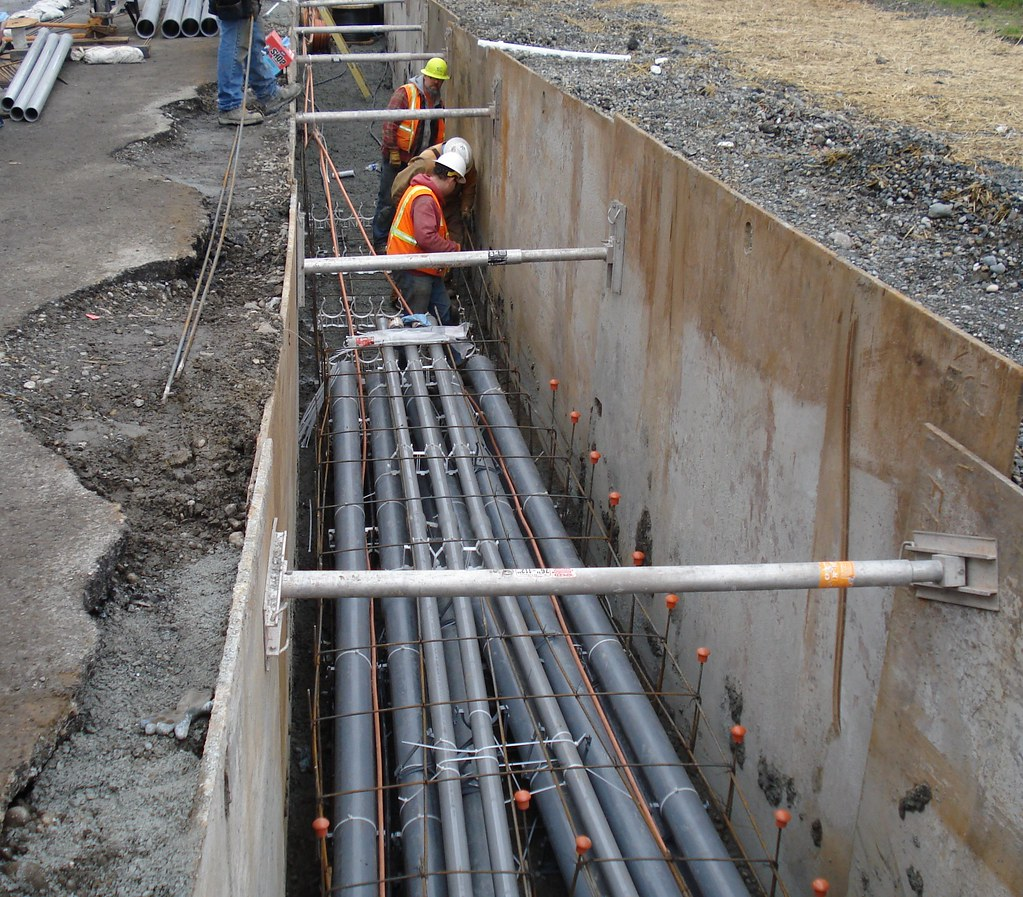 Electrical Line Relocation Project
