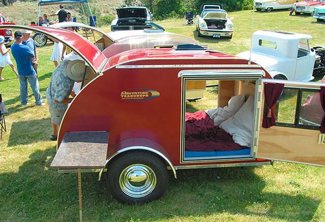cool vintage retro micro caravan vw camper van blog flickr. Black Bedroom Furniture Sets. Home Design Ideas