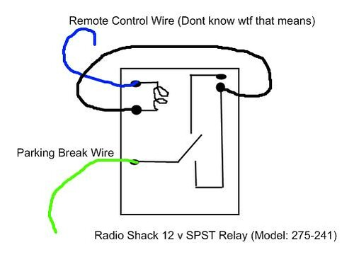 Bypass Relay Wiring Diagram : Pioneer avh p dvd video bypass volt relay here