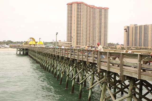 Apache pier north myrtle beach flickr photo sharing for North myrtle beach fishing pier