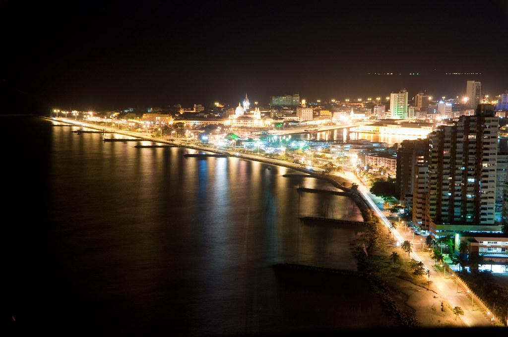 Cartagena at Night | Eric Andresen | Flickr