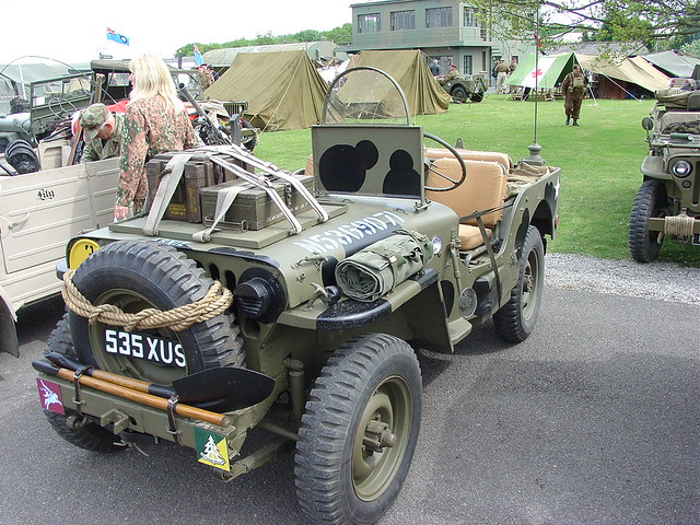 Willys Jeep For Sale >> 535 XUS - 1943 Airborne Willys WWII Jeep   homer----simpson   Flickr