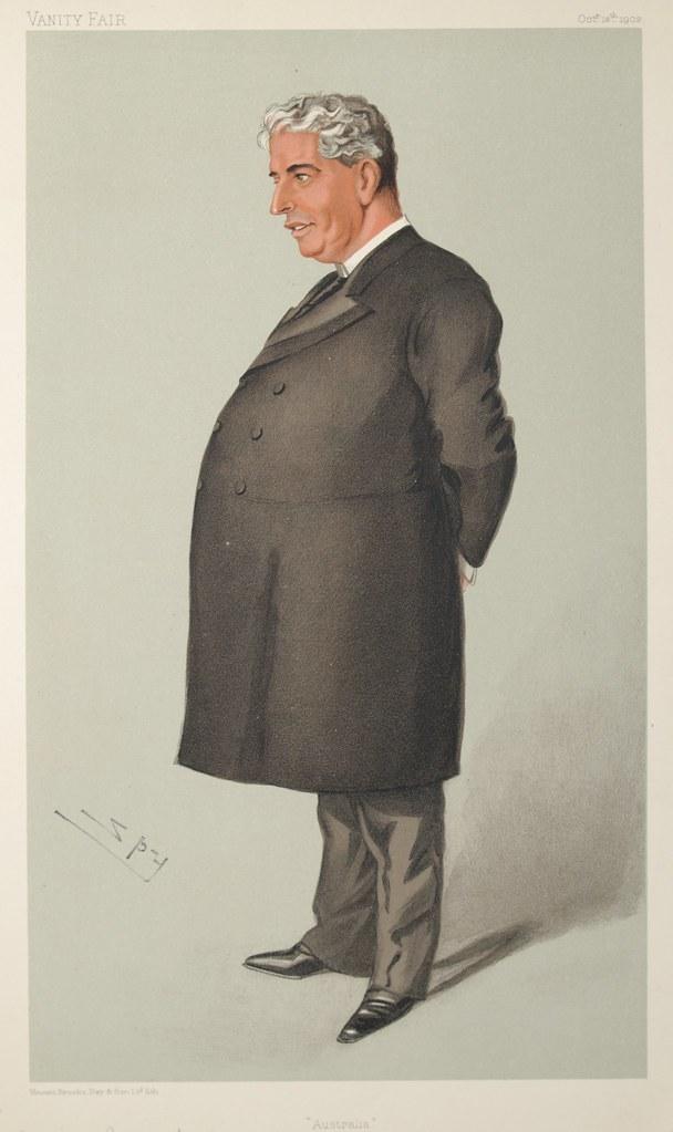 Sir Edmund Barton Quot Australia Quot Artist Ward Leslie