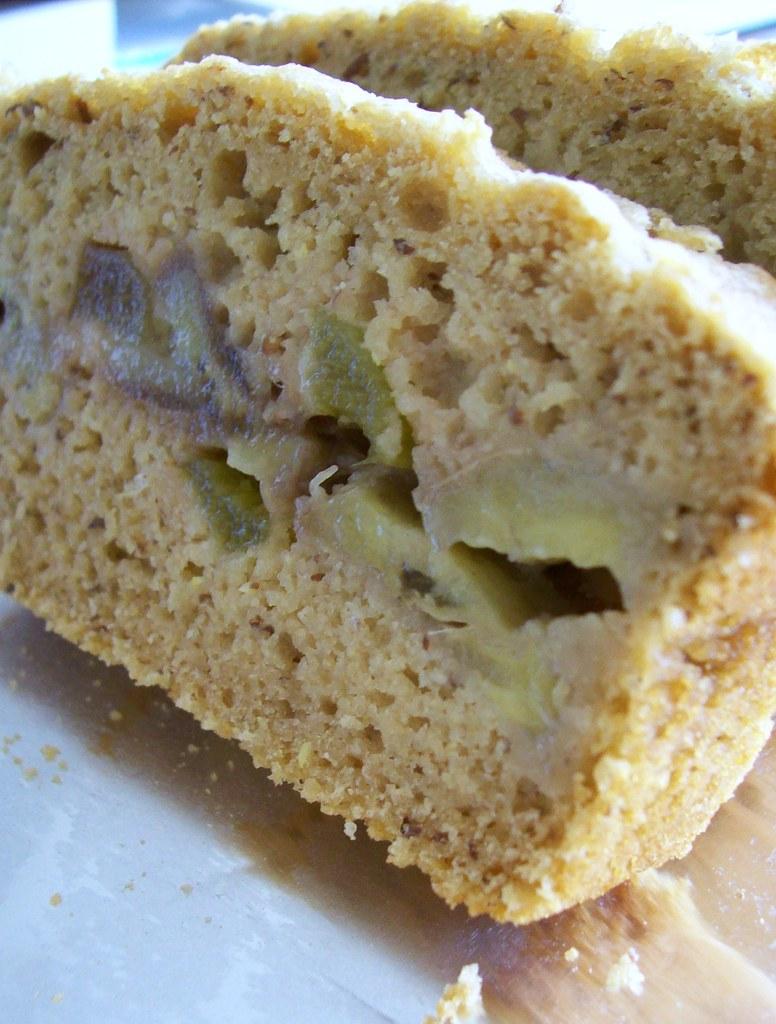 Rhubarb Loaf Cake Recipe Using Sttewed Rhubarb