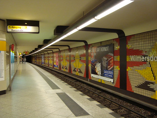 Berlin subway | by momomomo