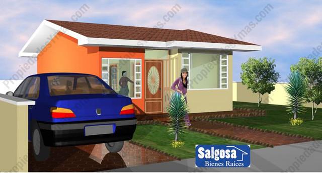 modelo de casa de campo 1 piso vista frontal ideas de