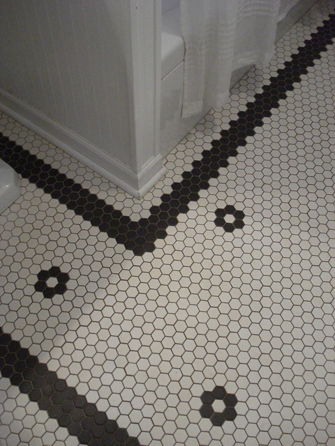 Custom Hex Tile Floor Flickr Photo Sharing