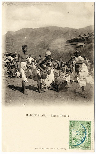The Tanala Dance in Madagascar (1904) | by postaletrice