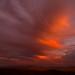For Mike G--RIP--Fiery sunset, California Desert