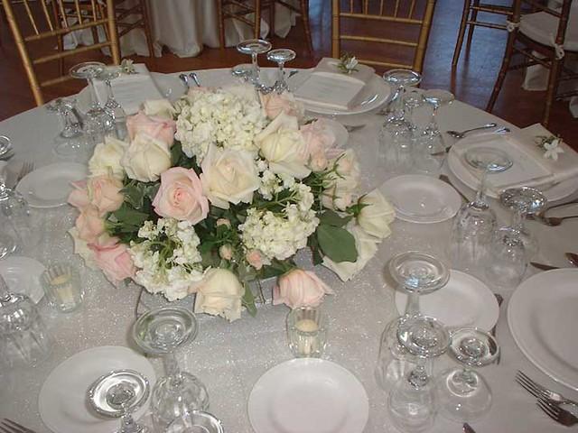 wedding reception flowers centerpieces