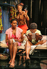 "The play ""Ruined"" has been extended at the Manhattan Theatre Club in New York City Center Stage. The play was written by Purlitzer Prize winner Lynn Nottage. 