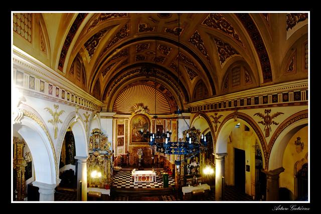Iglesia de los Santos Justo y Pastor  Panorámica de la ...