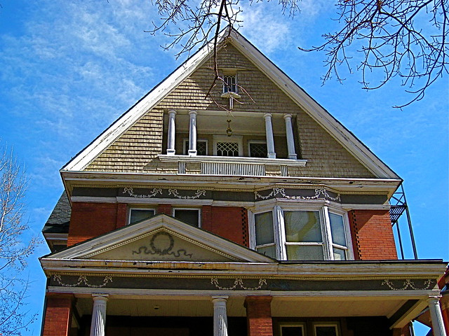 Victorian home with beautiful third floor balcony flickr - Beautiful houses with balcony ...