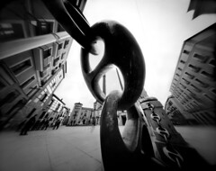 A Chain in Spain (4x5 Pinhole Photograph) | by integrity_of_light