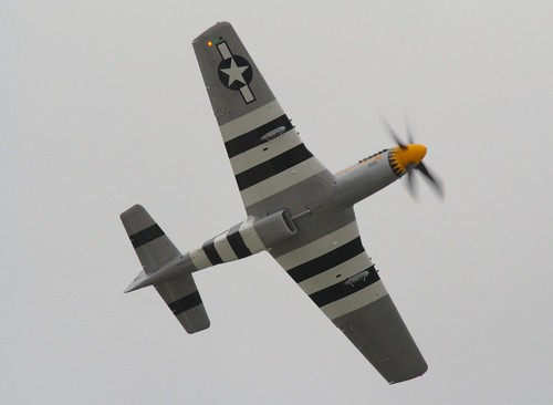 P 51d Mustang Wearing Normandy Invasion Stripes The Twyl