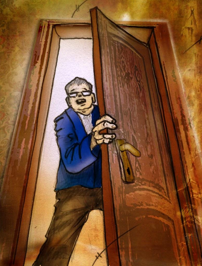 Abriendo la puerta | Viñetas sueltas del comic Juan ... | 777 x 1024 jpeg 267kB