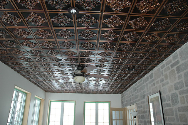Faux Tin Antique Ceiling Tiles By Www Talissadecor Com
