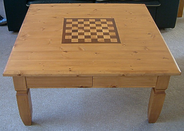 Chess Board Coffee Table Close Up Davidpmoss Flickr