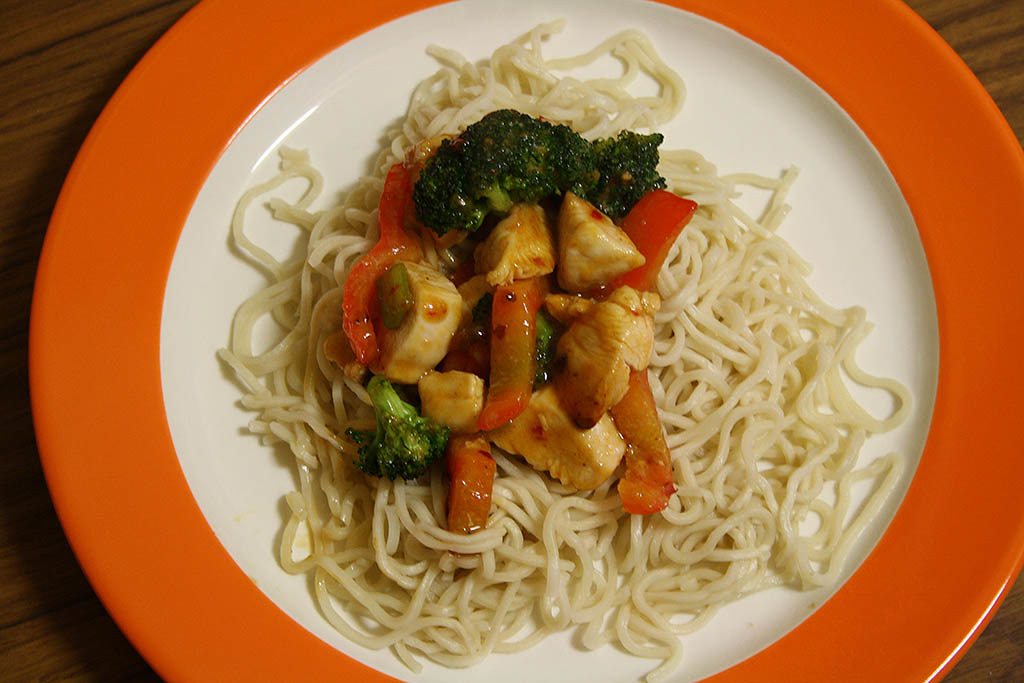 Garlic Chicken Stir Fry With Noodles Chilli Chicken Stir Fry