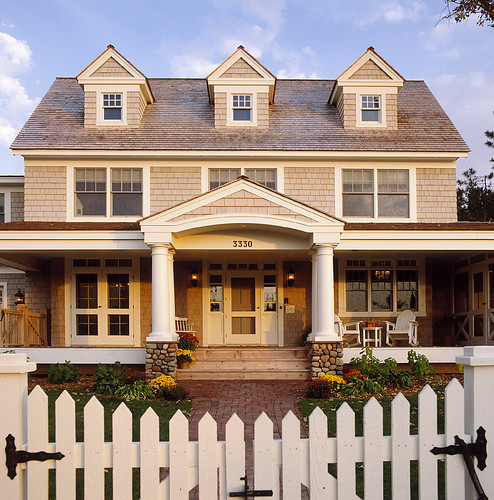 Free Exterior House Design Home Tool: Exterior View Of Home Designed By Ron Brenner