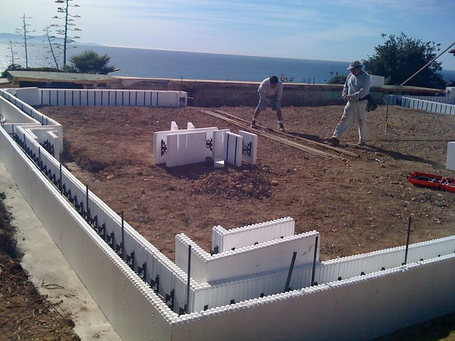 Icf Foundation Stem Walls Smg Construction And