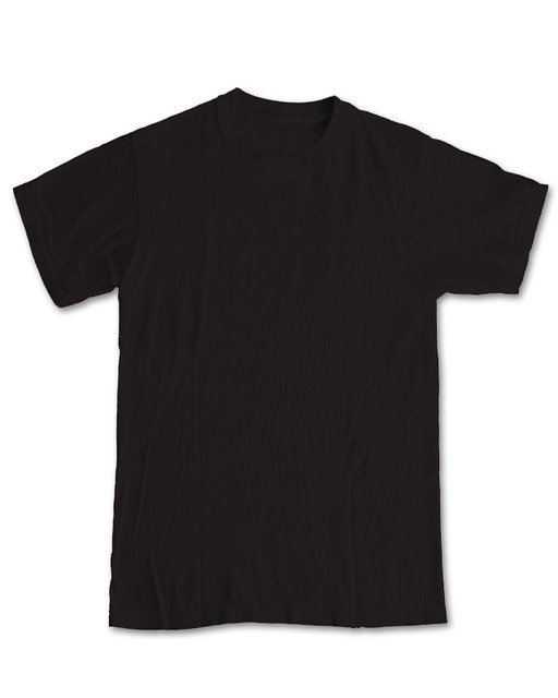 New blank front black use for threadless submissions for Blank tee shirts com