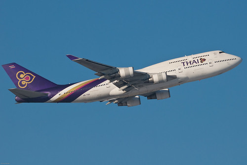 Thai Airways Boeing 747-4D7 HS-TGO Bowonrangsi บวรรังษี (28240) | by Thomas Becker