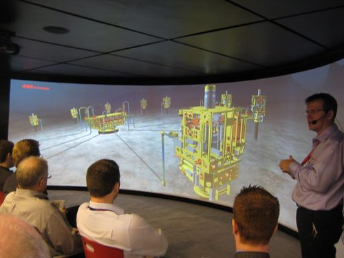 Animated Presentation At Fmc Technologies Booth Offshore