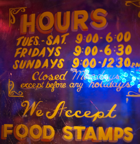 Jacques-Imo's: Food Stamps | by Mills Baker