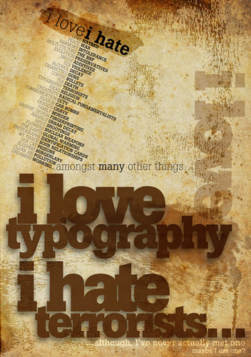 Typography poster sm | by Naf4d